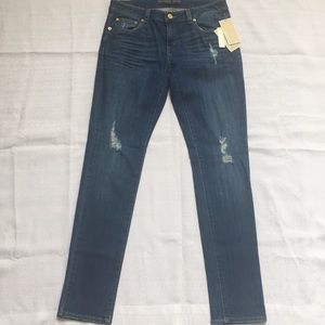 Michael Kors Distressed Relaxed Fit Jeans Size 2